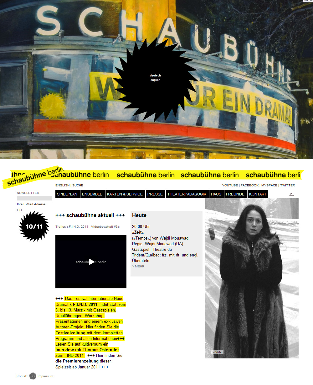 Die Website als Crime Scene