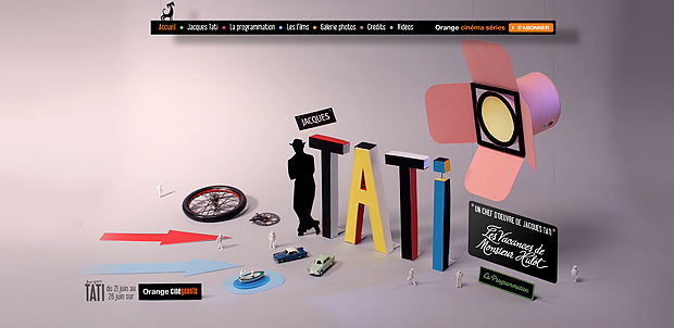 Basteldiplom für Jacques Tati