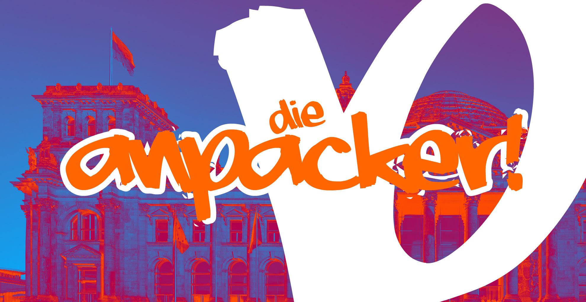 """Logos, Vorspann, Trenner und Abspann """"Die Anpacker"""""""