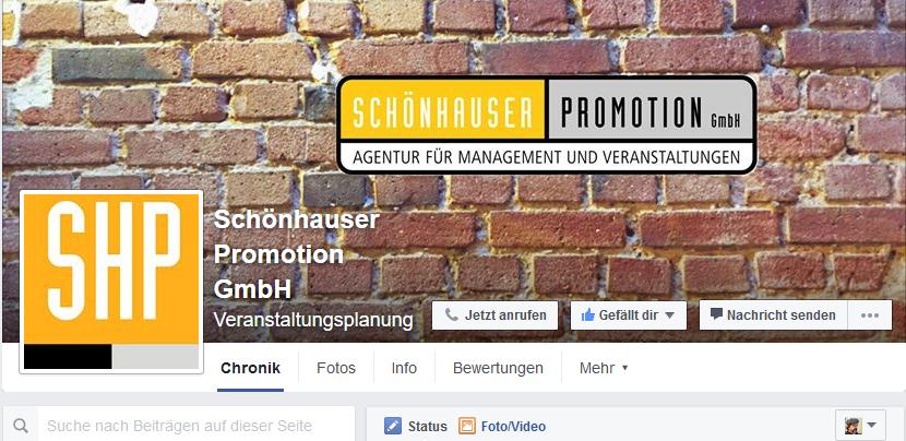Willkommen, Schönhauser Promotion GmbH