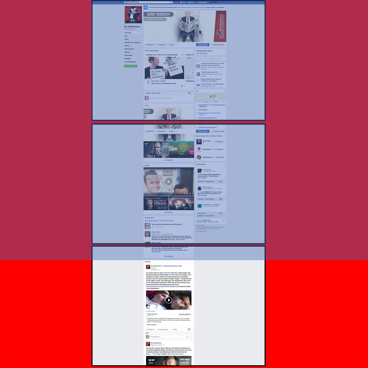 Facebook: Scrolling, scrolling, scrolling