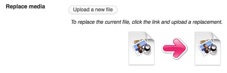 Das Plugin Enable Media Replace und WordPress 3.5