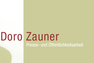 Doro Zauner - Presse- und Öffentlichkeitsarbeit